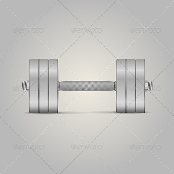 GraphicRiver Dumbbell 8282029