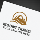 Mount Travel Logo - GraphicRiver Item for Sale