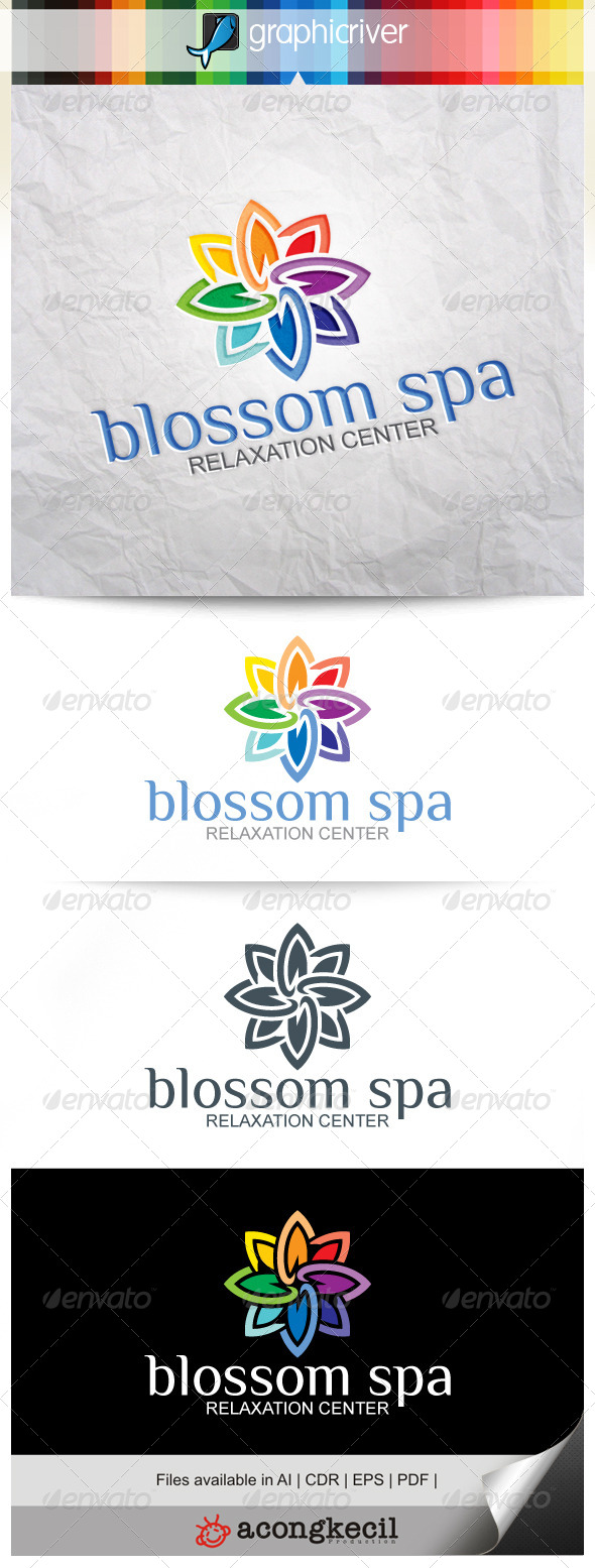 GraphicRiver Blossom Spa V.1 8282077