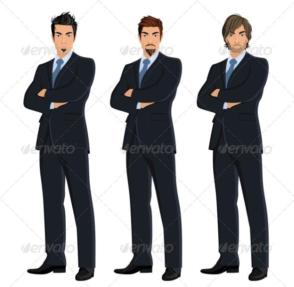 GraphicRiver Set of Business Men 8282092