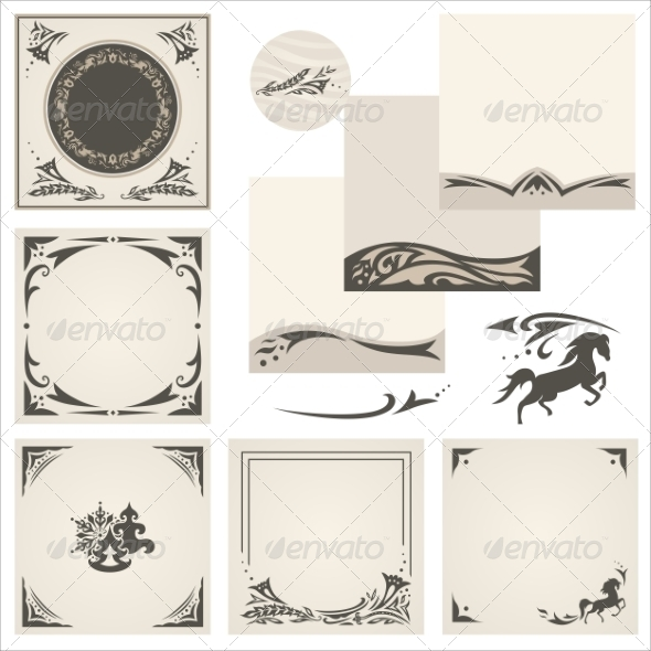 GraphicRiver Arabic Ornaments 8282218