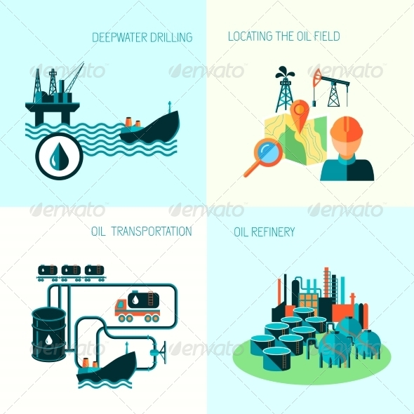 GraphicRiver Oil Industry Composition 8282231