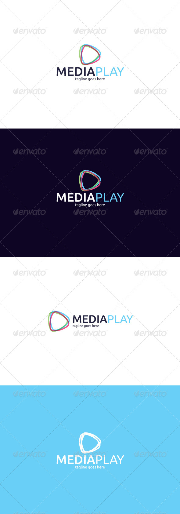 GraphicRiver Media Play Logo 8282237