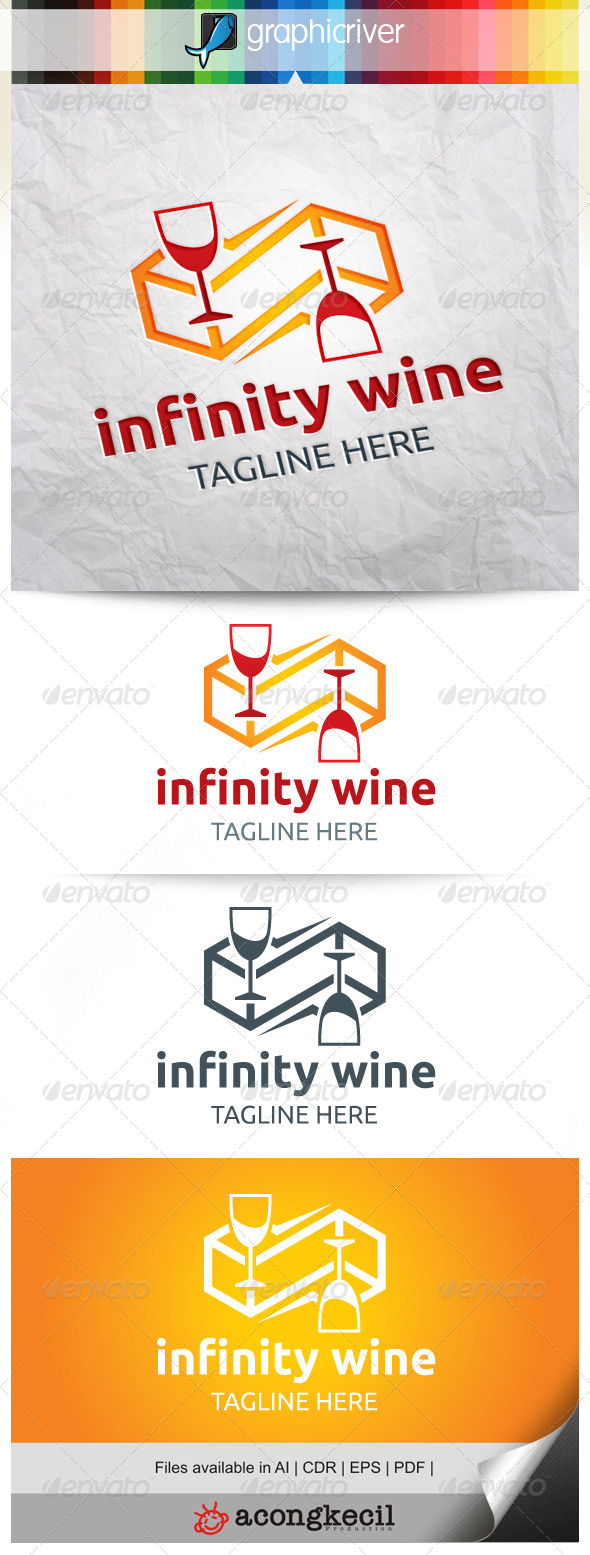 GraphicRiver Infinity Wine 8282257