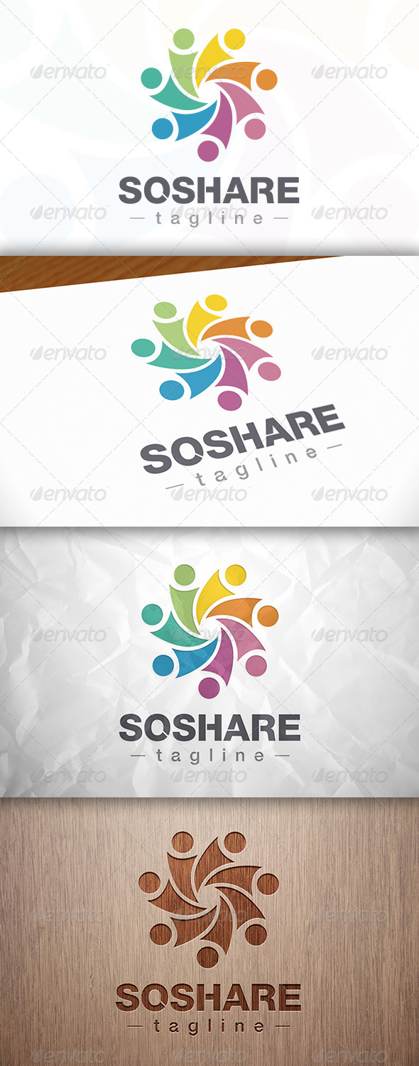 GraphicRiver Social Share Logo 8282369