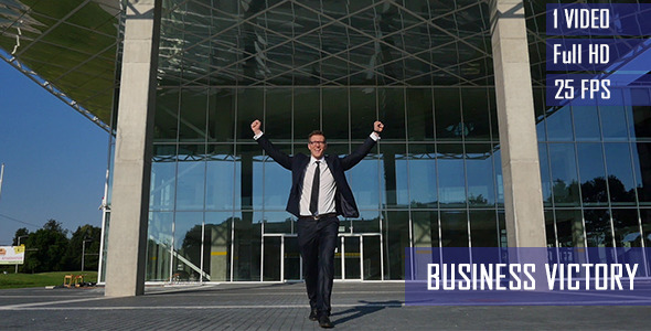 Successful Business Victory