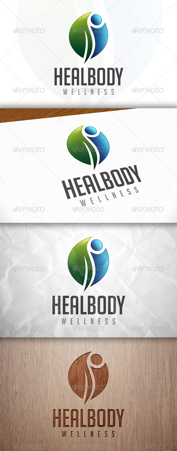 GraphicRiver Health Body Logo 8282713