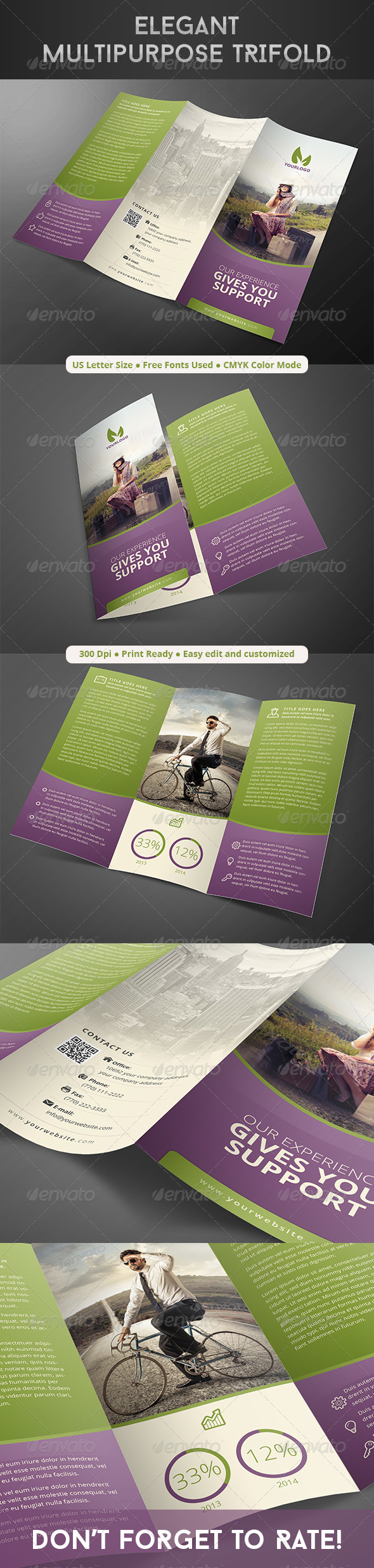 GraphicRiver Elegant Multipurpose Trifold 8282730