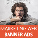 Business Marketing Web Banner Ads - GraphicRiver Item for Sale