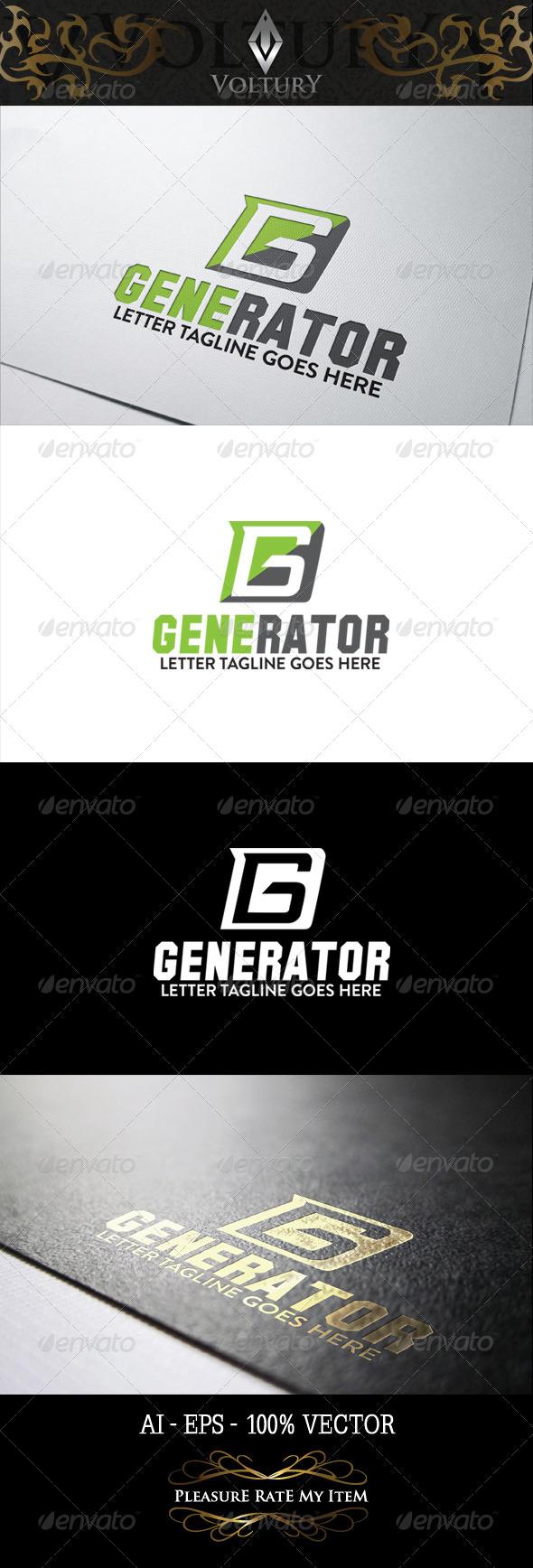 GraphicRiver Generator Logo 8282997
