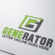 Generator  Logo - GraphicRiver Item for Sale