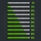 Green Progress Bar Set - GraphicRiver Item for Sale