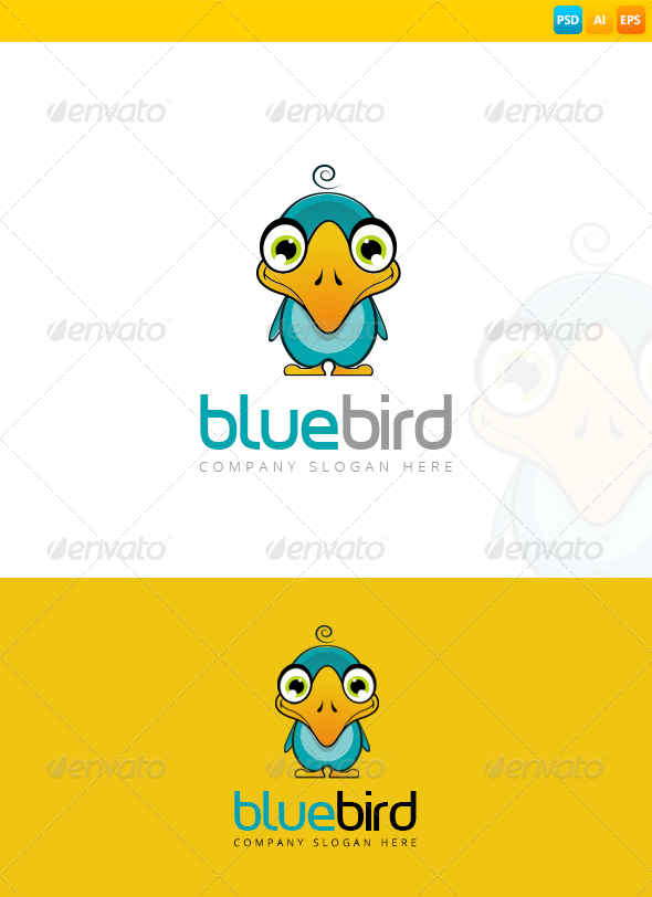 GraphicRiver Bird Logo 8271690