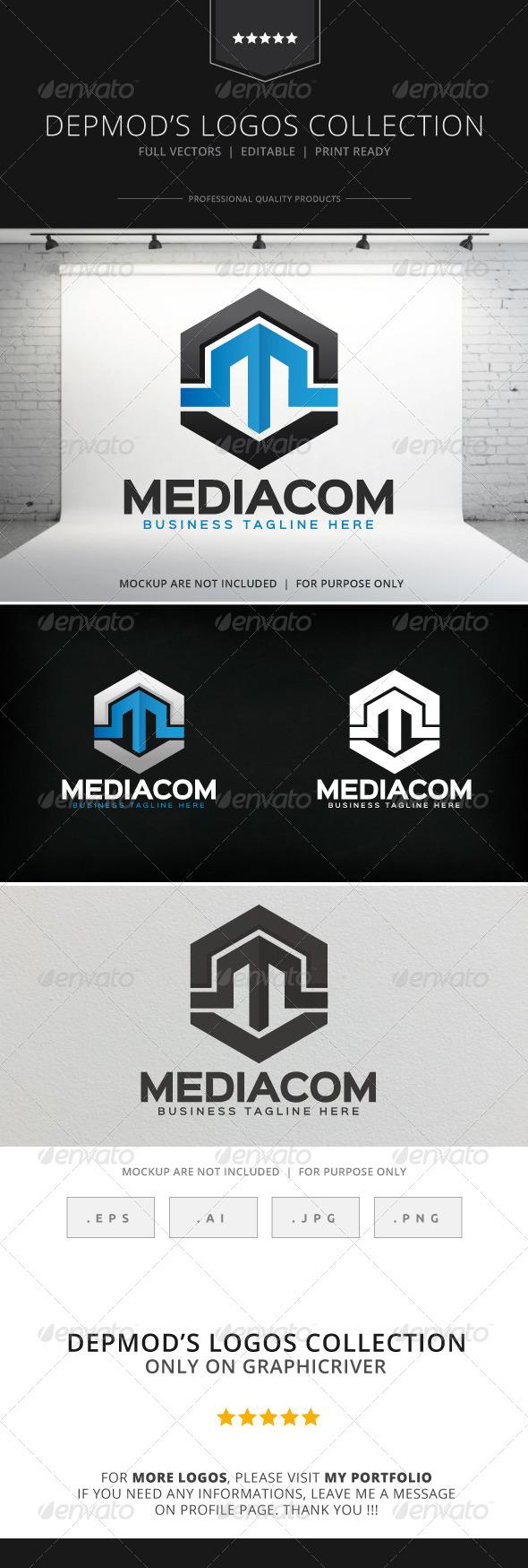 GraphicRiver Mediacom Logo 8283233