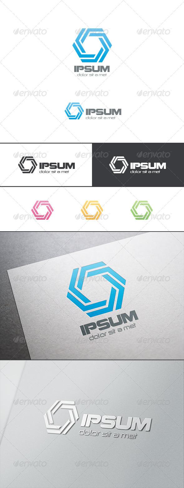 GraphicRiver Hexagon Infinity Loop Logo 8283365