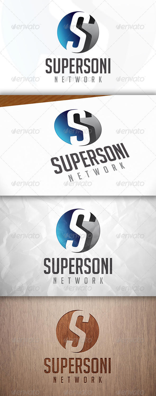 GraphicRiver Supersonic Logo 8283386