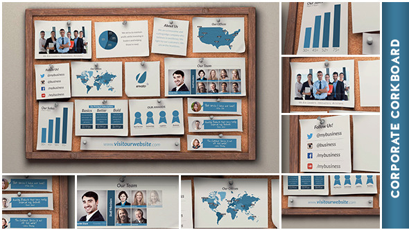 Corporate Corkboard Presentation