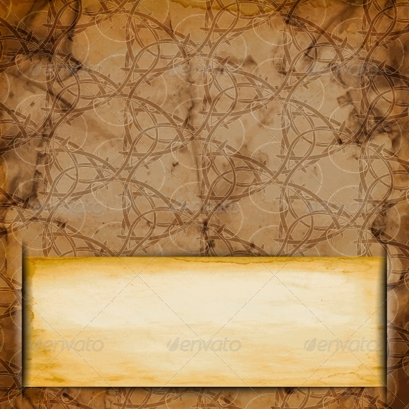 Abstract Old Grungy Paper Background with Texture