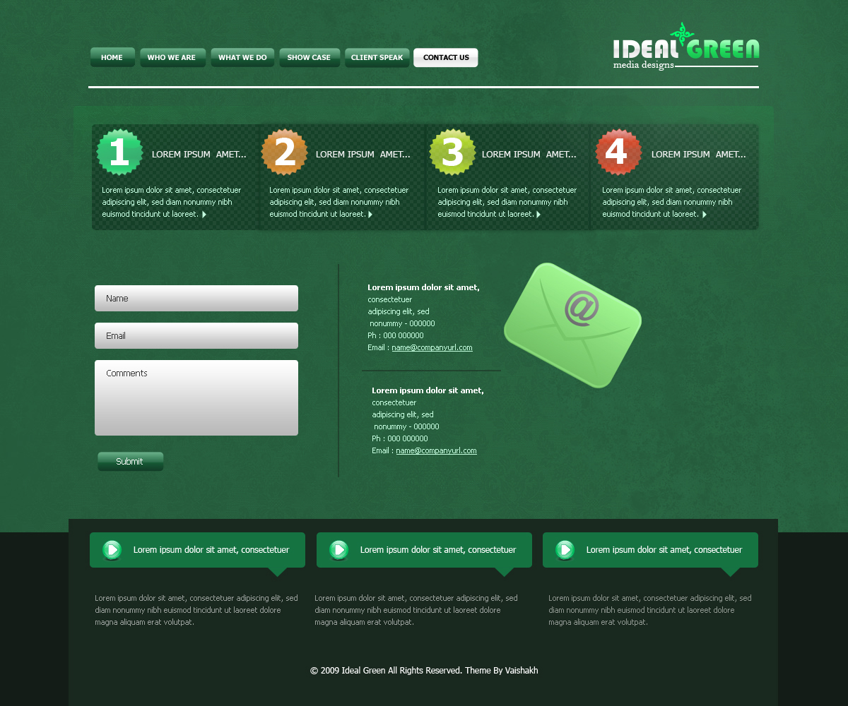 IDEAL GREEN CLEAN AND CORPORATE TEMPLATE!