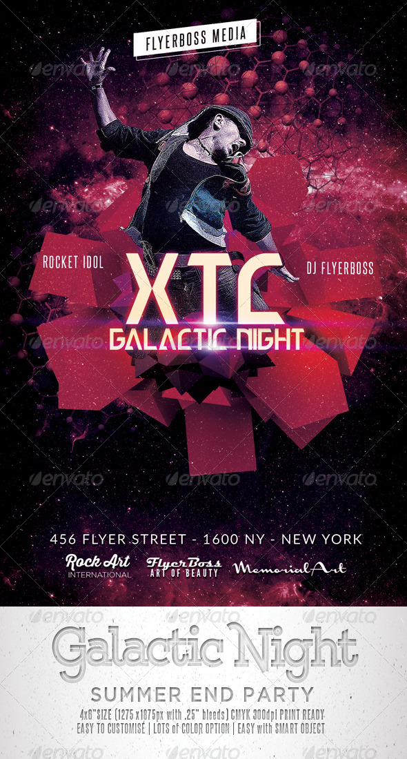 Galactic Night Flyer