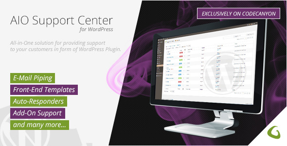 CodeCanyon AIO Support Center WordPress Ticketing System 8283822