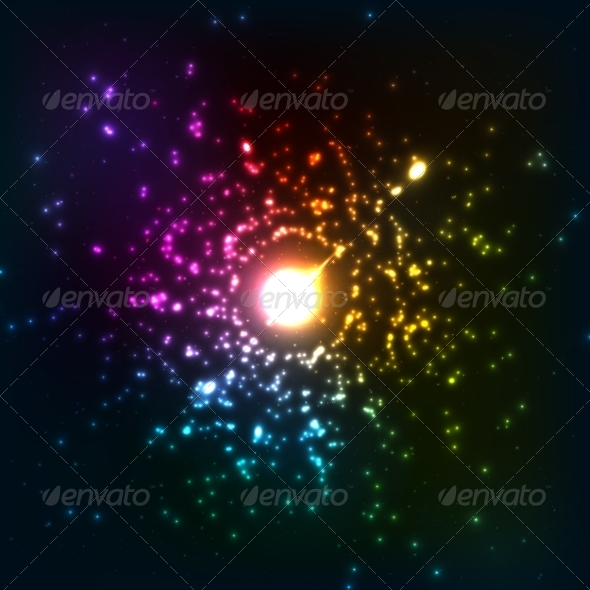 GraphicRiver Colorful Cosmic Explosion 8283907