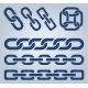 Set of Chain Icons - GraphicRiver Item for Sale