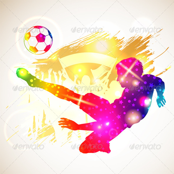 GraphicRiver Soccer Player 8284232