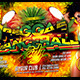 Reggae Dancehall Party Flyer Template - GraphicRiver Item for Sale