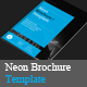 Neon Brochure Templates - GraphicRiver Item for Sale