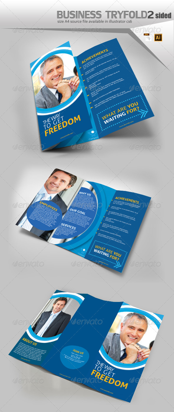 GraphicRiver Trifold template 8193462