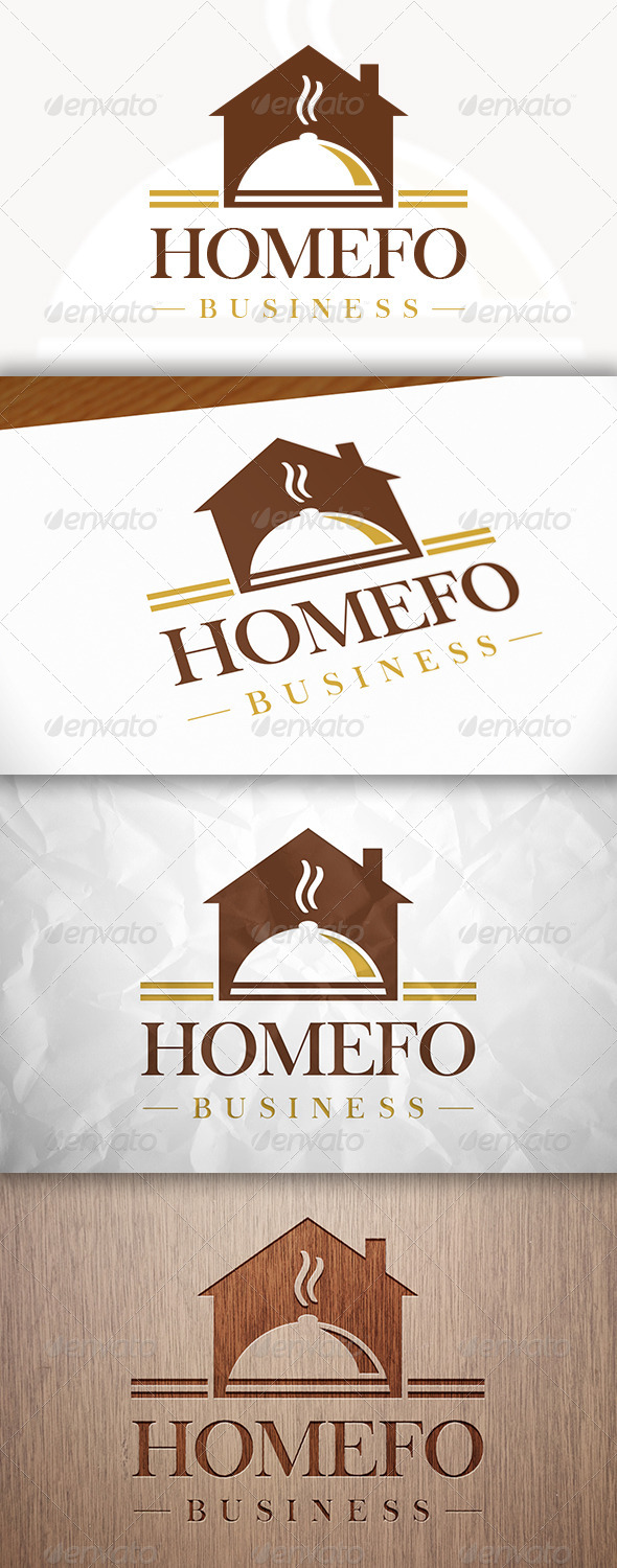 GraphicRiver Homemade Food Logo 8284413