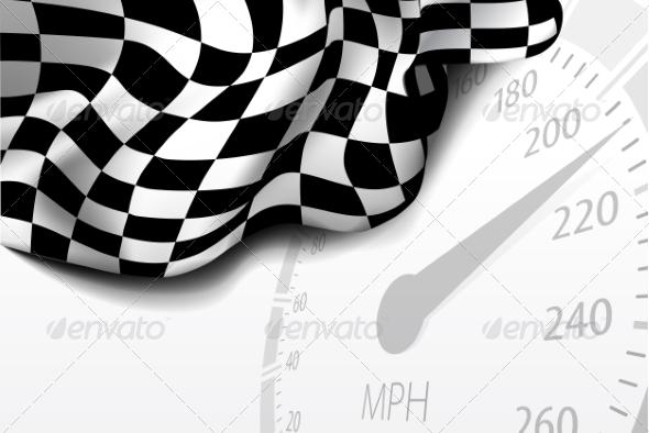 GraphicRiver Checkered Flag 8284478