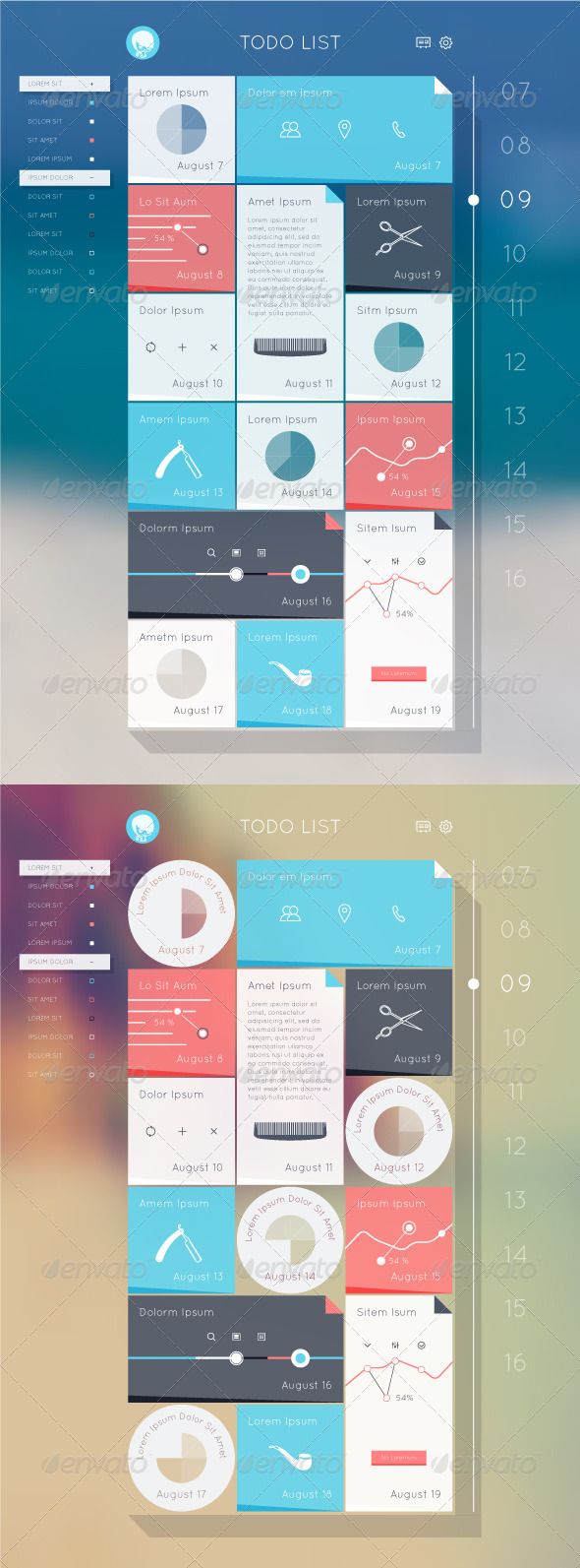 GraphicRiver ToDo List 8275750