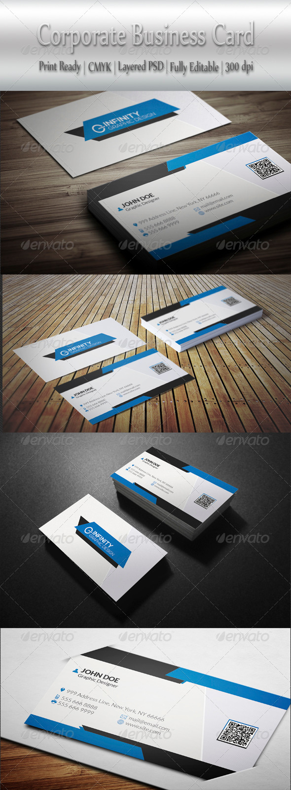 GraphicRiver Corporate Business Card 8284752