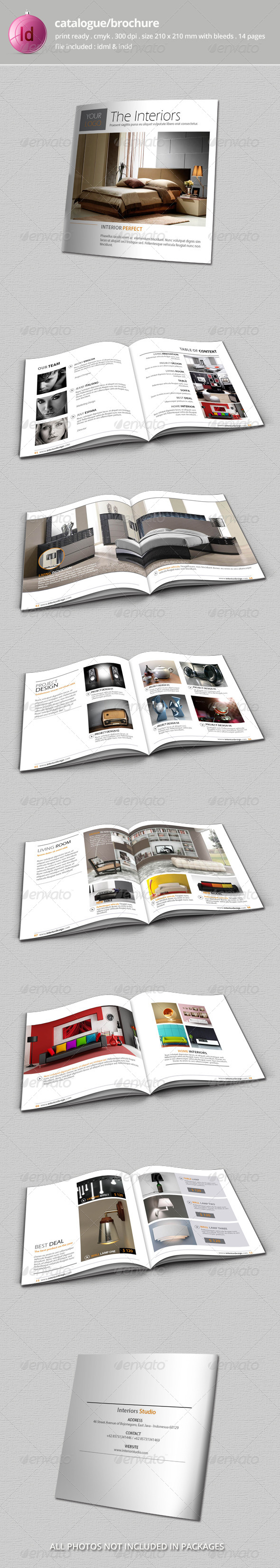 GraphicRiver Catalogue Bochure Template 8284794