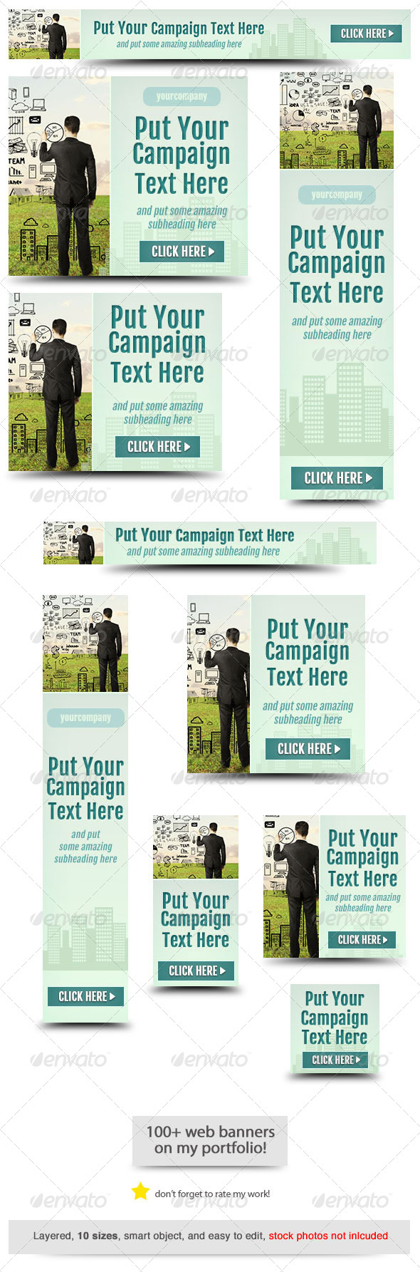 GraphicRiver Corporate Web Banner Design Template 46 8284829