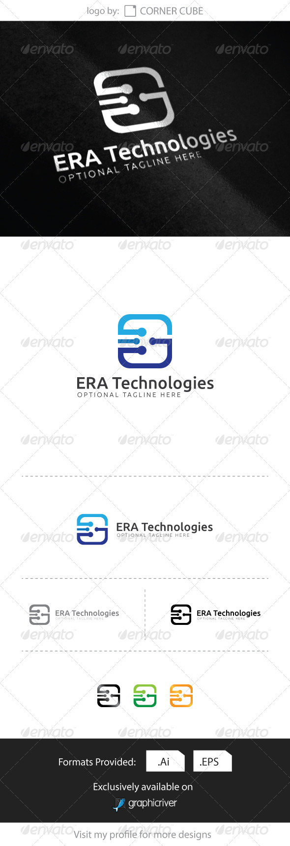 GraphicRiver Technologies Logo 8284890