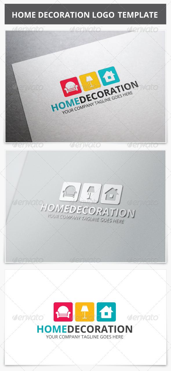 GraphicRiver Home Decoration Logo 8284930