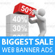 Biggest Sale Web Banner Ads - GraphicRiver Item for Sale