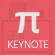 Pi Keynote Template - GraphicRiver Item for Sale