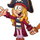 Pirate Girl - GraphicRiver Item for Sale