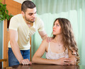 Man asking for forgivness from woman - PhotoDune Item for Sale