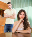 Young couple having conflict at home - PhotoDune Item for Sale