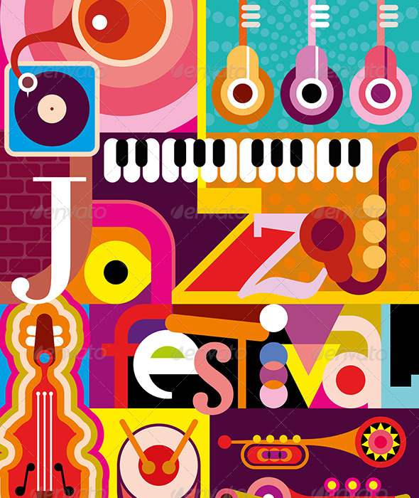 GraphicRiver Jazz Festival 8286005