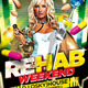 Rehab Weekend Party Flyer - GraphicRiver Item for Sale