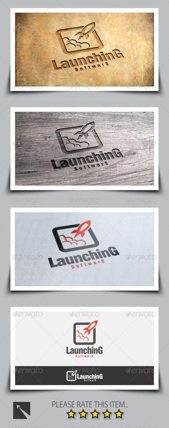 GraphicRiver Rocket Logo Template 8286313