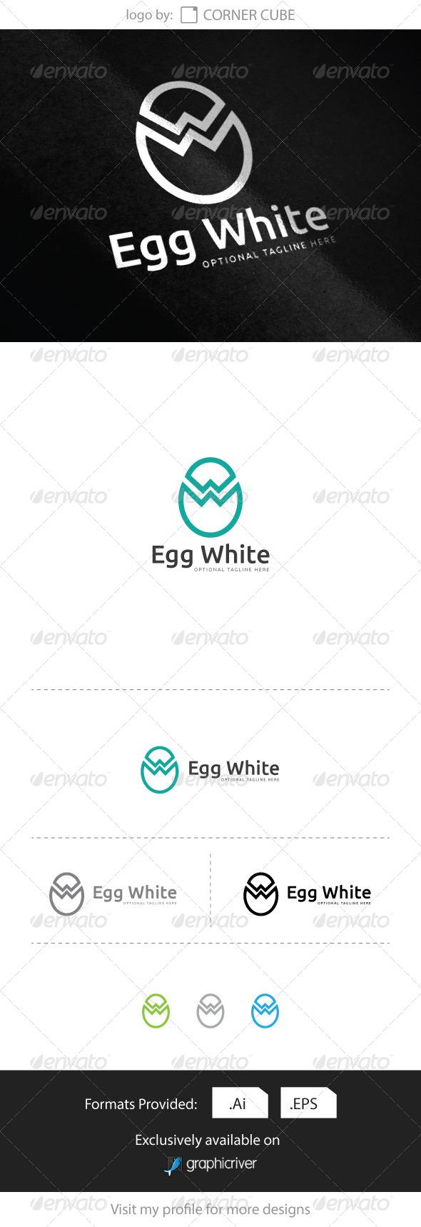 Egg White logo