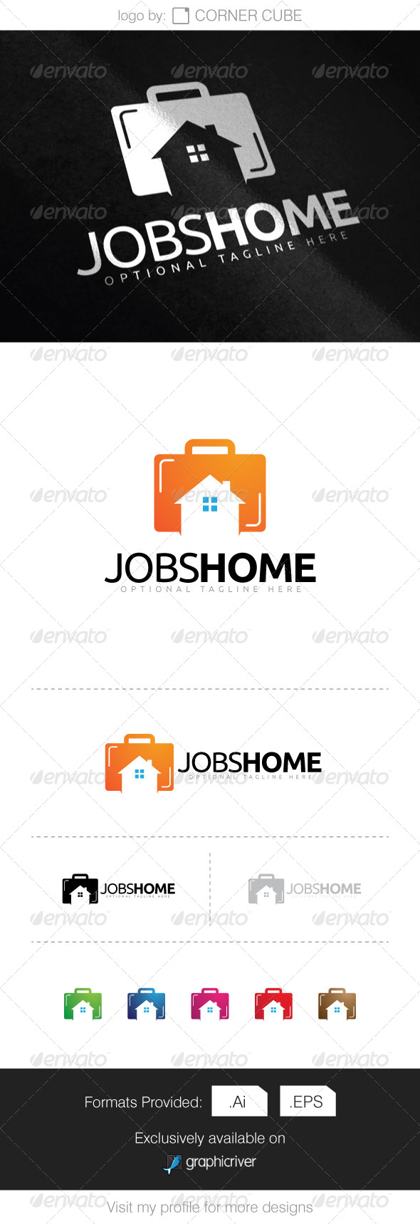 GraphicRiver Jobs Home Logo 8286416