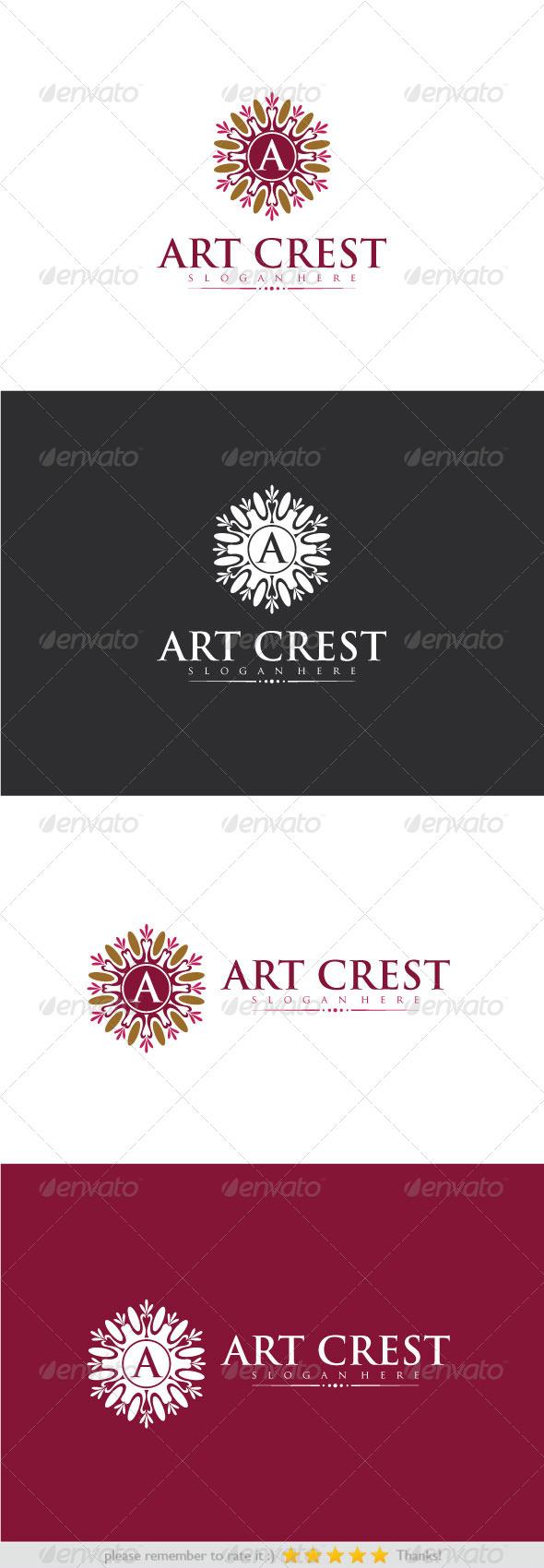 GraphicRiver Art Crest 8286436